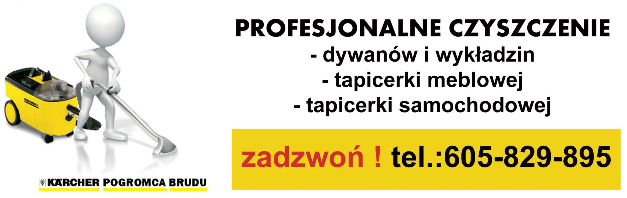Czyszczenie dywanów w Krakowie